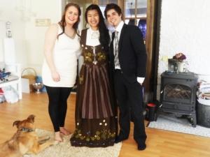 17. mai med min vertsfamilie
